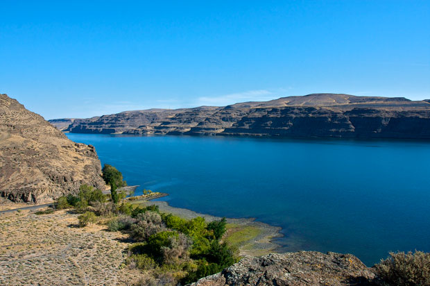 Columbia River From Vantage