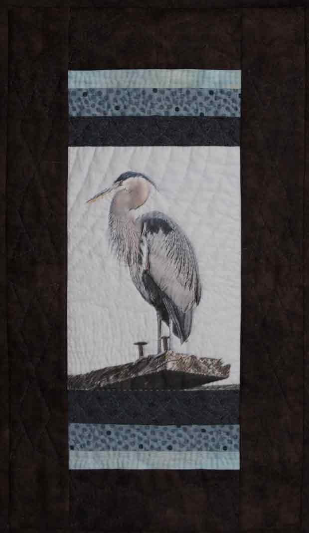 Great Blue Heron Quilt