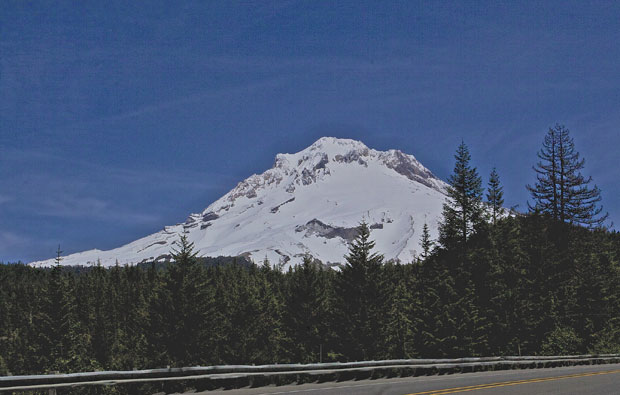 Mt Hood from Highway