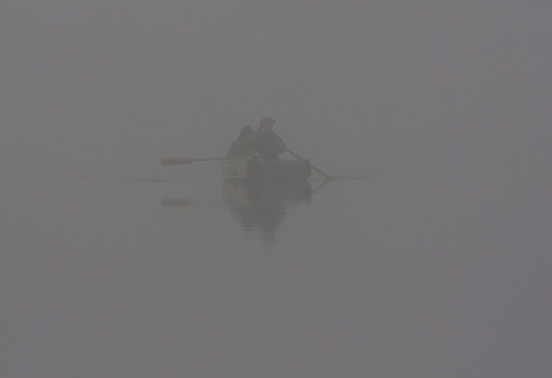 Hunters in Fog