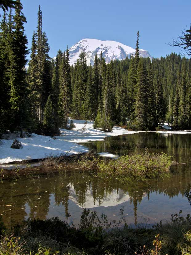 Rainier form Reflection Lake