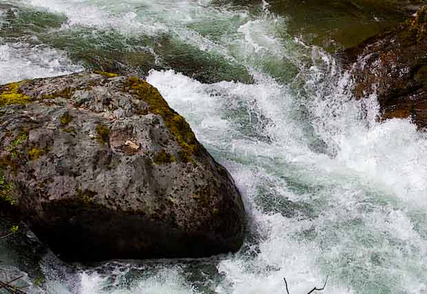 Rushing Streamwater