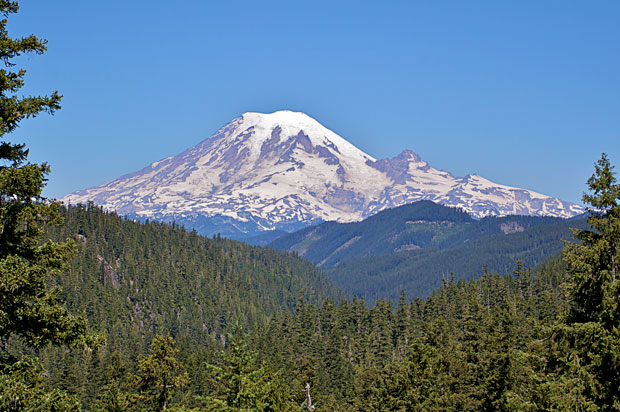 Mount Rainer from the South East